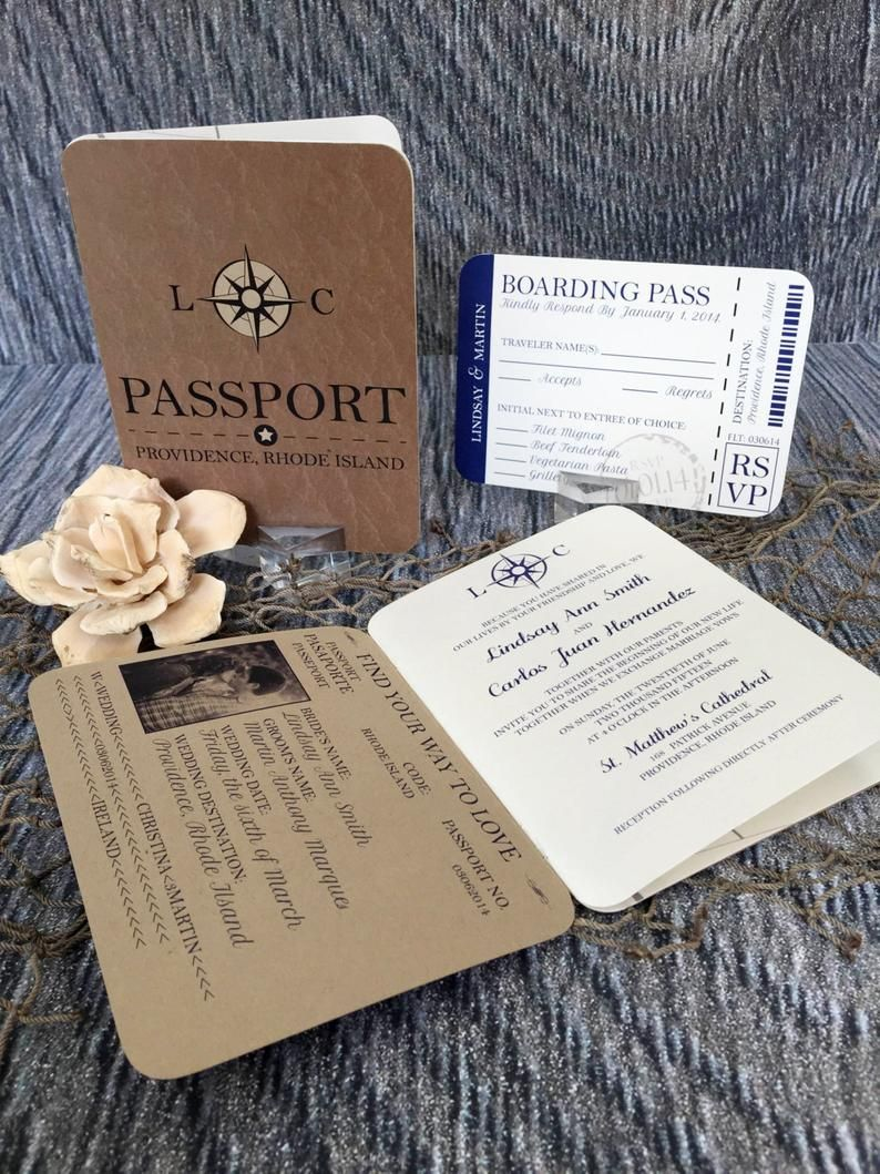 Passport Wedding Invitation, Guide the Way Wedding Invitation, Rustic Wedding  Invitations, Wedding Invites - Invitation Sample Kit in 2020 | Passport wedding  invitations, Wedding invitations, Invitations