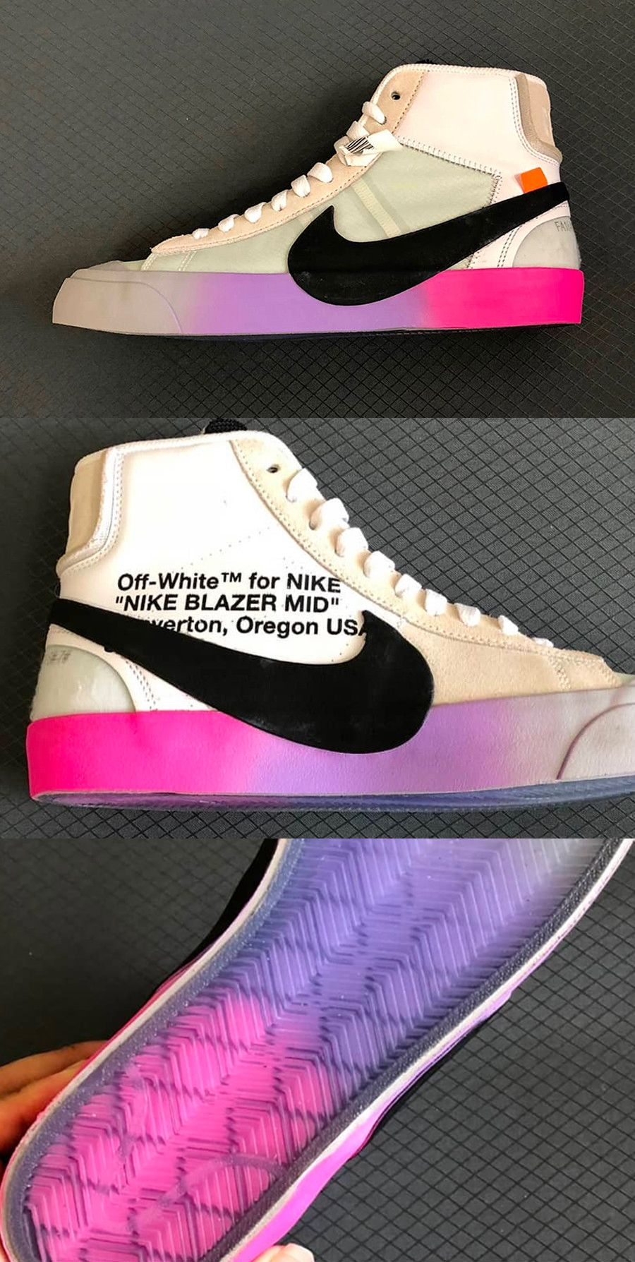off white blazer rainbow