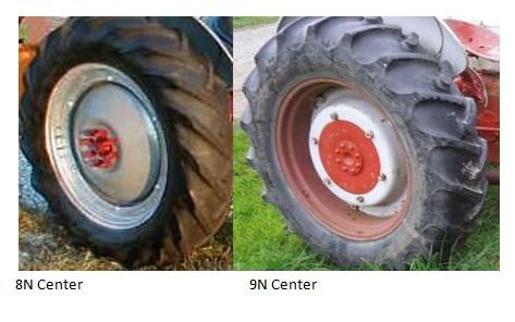 How To Tell The Difference Between A Ford 8n And 9n By The Wheel