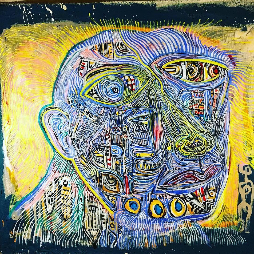 painting by NYC Artist Anton Vitkovskiy aka antovitkoart