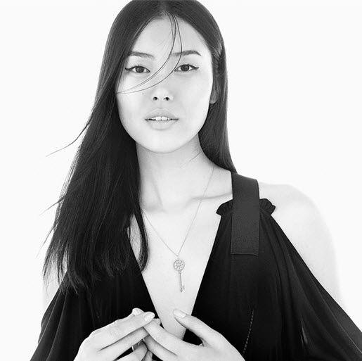 Model Liu Wien stars in the Fall 2015 Tiffany Keys campaign
