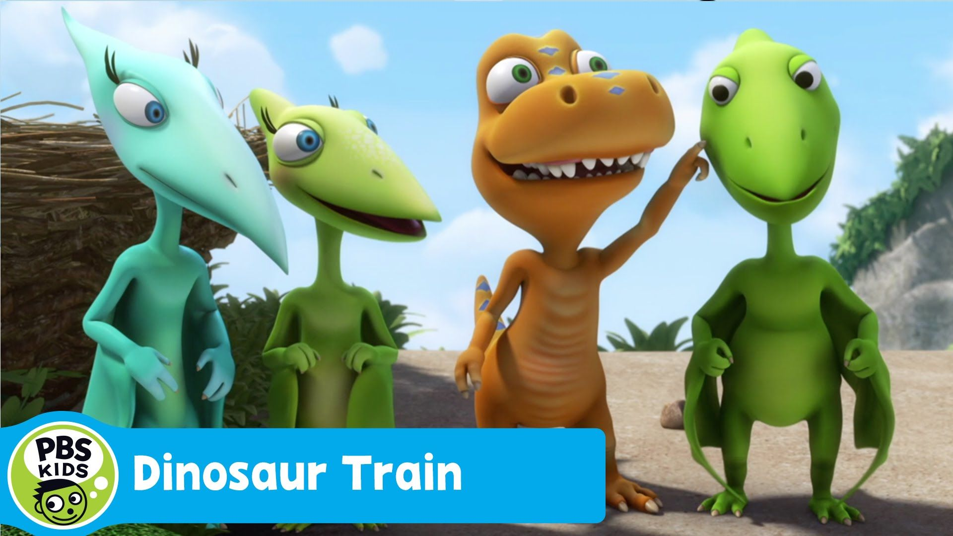 DINOSAUR TRAIN Talking Clouds PBS KIDS Dinosaur