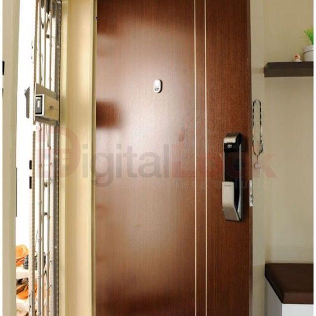 Pin By My Digital Lock Pte Ltd On Veneer Fire Rated Door For Digital Lock Digital Lock Bedroom Doors Doors