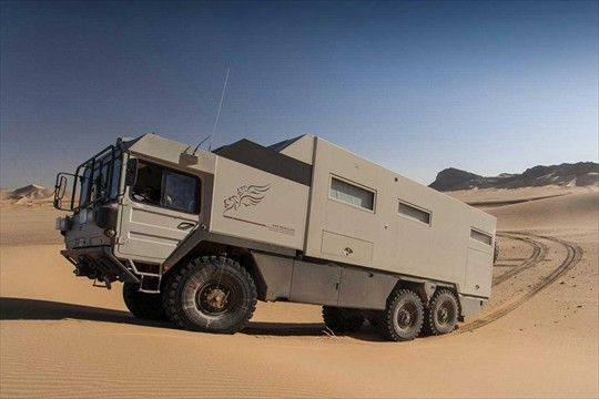 MAN KAT 6x6 Expedition Truck | Mobile Home | Overland truck