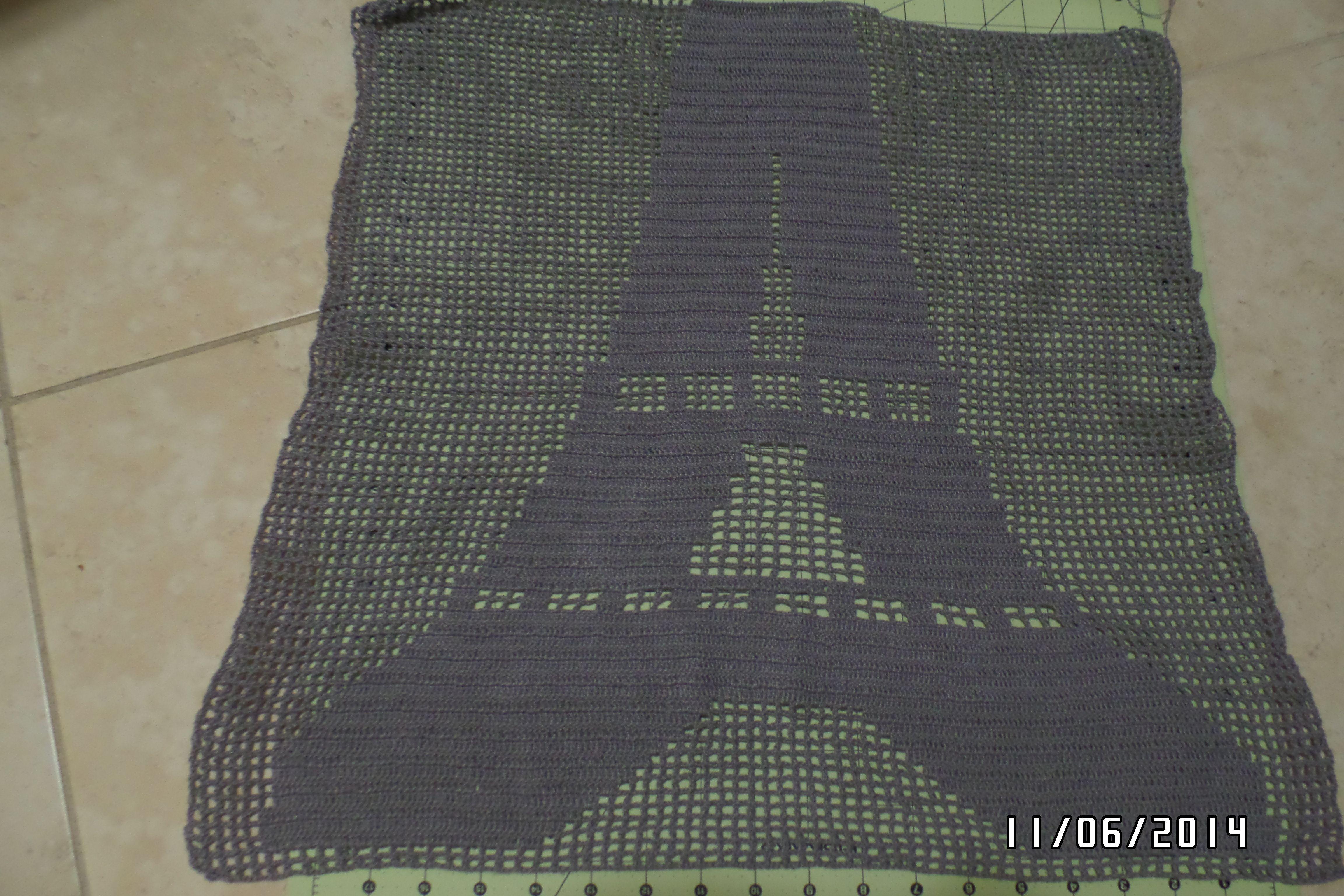 La Torre Eiffel tejida