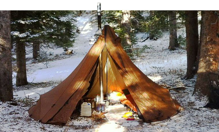 Seek Outside Tipi with tent stove & Cold Weather Tents: The Best Winter Tents in 2019 | klondike Derby ...