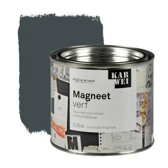 KARWEI magneetverf mat grijs 500 ml | Magneetverf | Speciaalverven | Verf | KARWEI