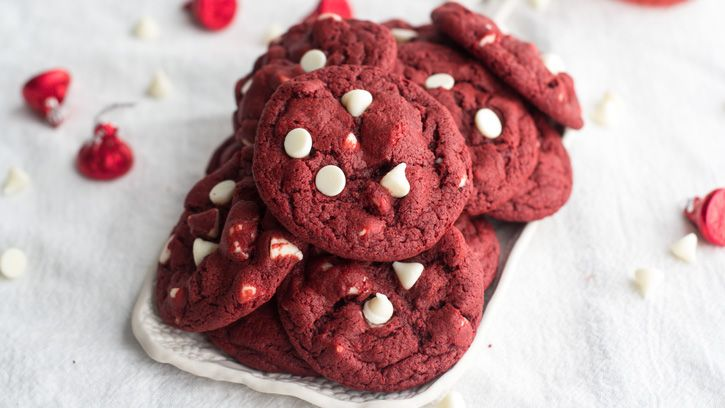Here are five red velvet recipes we're obsessing about for Valentine's Day.