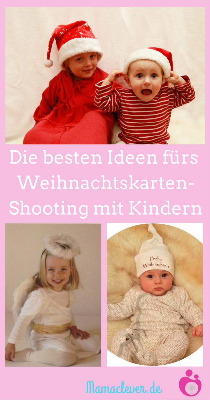 Ideen für Weihnachtsfotos mit Babys und Kindern | Weihnachten