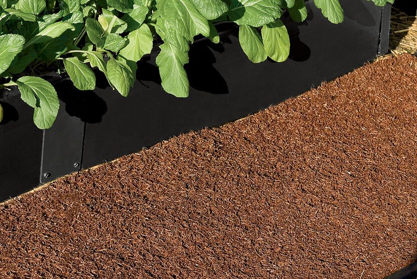 Recycled Rubber Walkway Rubber walkway, Mulch for