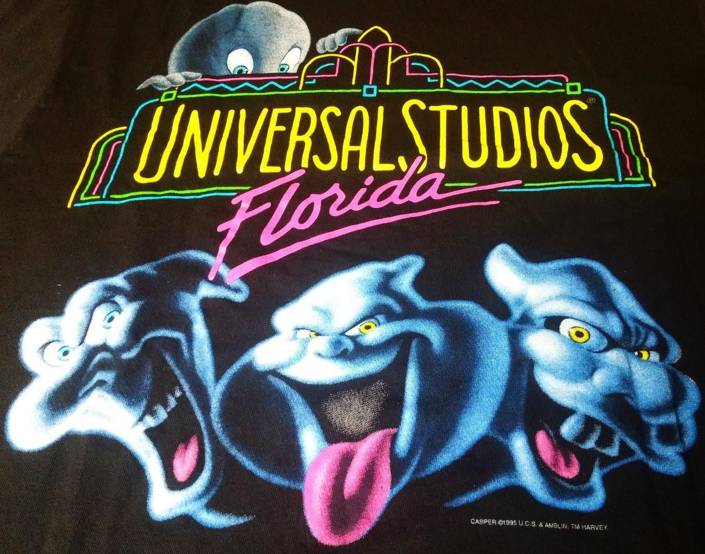 CASPER 1995 Universal Studio Ghost TShirt Movie Kids
