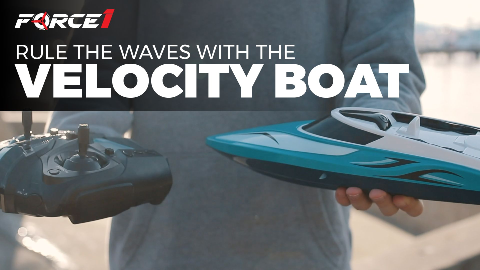 FORCE1 Experience the Velocity Boat (With