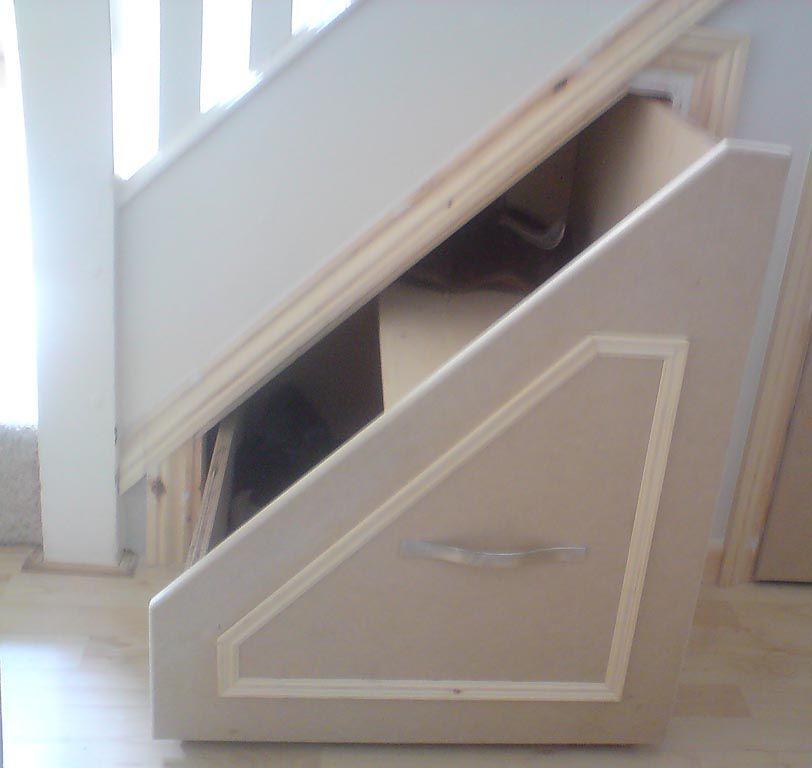 Bespoke Under Stairs Shelving: Understairs Storage, Stair Storage