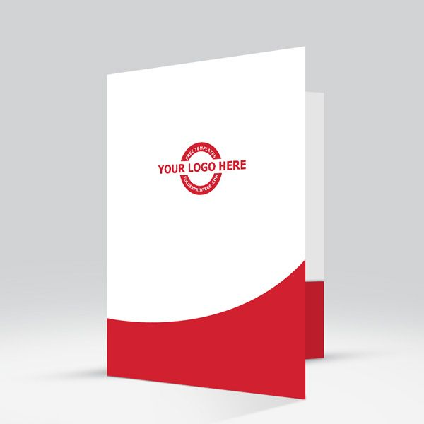 Free folder friday template from folderprinter fast design upward mobility red is a free presentation folder design template bought to you by flashek Gallery