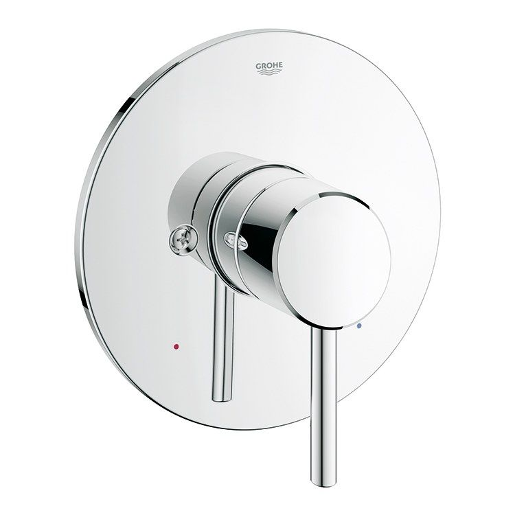 Grohe 19457001 Concetto Pressure Balance Valve Trim With Lever