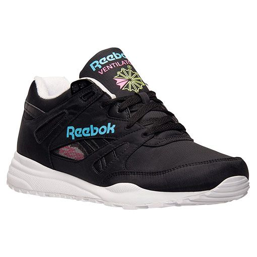 Men's Reebok Ventilator Day Glow Casual Shoes - M48625 BLK | Finish Line