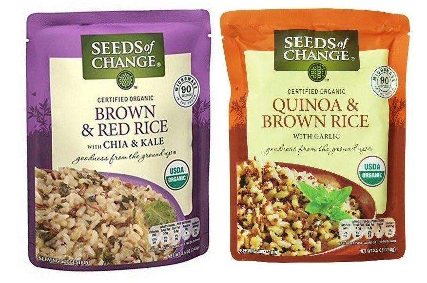 Seeds of Change 2 Flavor Variety 6-Pack BB 11/2017 #SeedsofChange