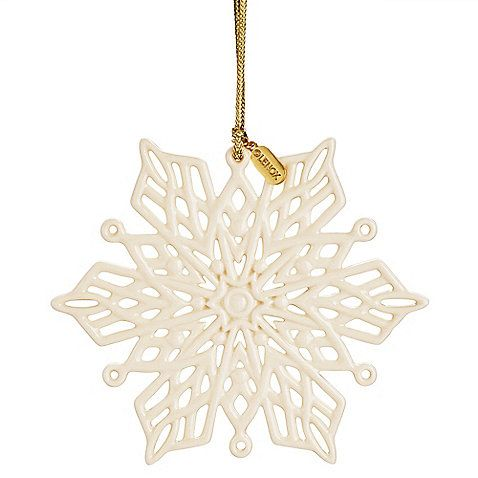 Lenox® 2013 Snow Fantasies Snowflake Ornament (With images ...