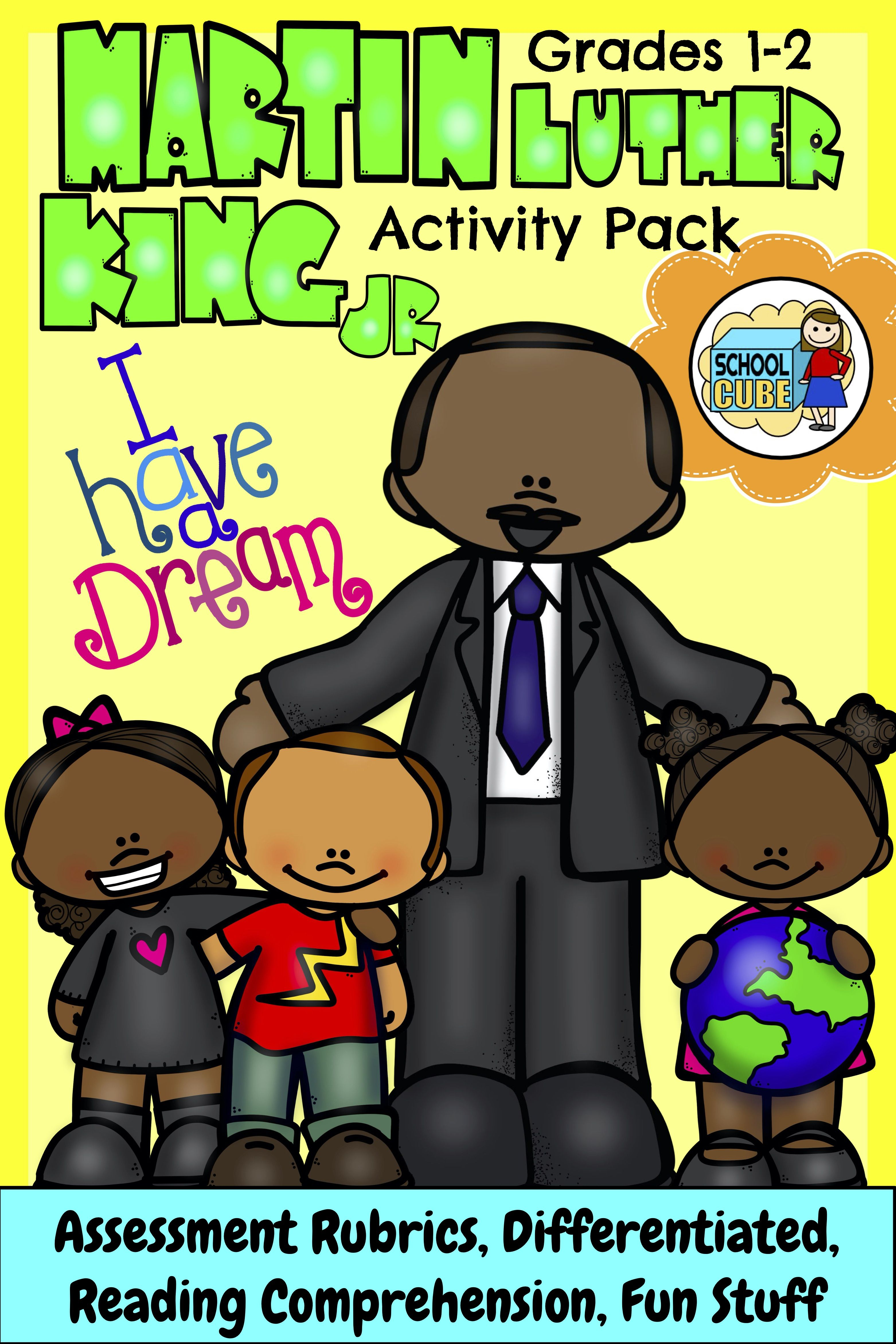 Martin Luther King Jr Activities Differentiated