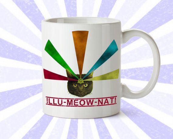 illumeownati mug :D inverted pentagram materialists #GoldenDawn #OTO #illuminati #occult