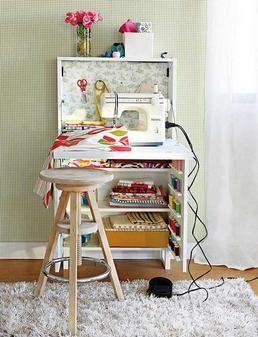 mueble para costura ikea