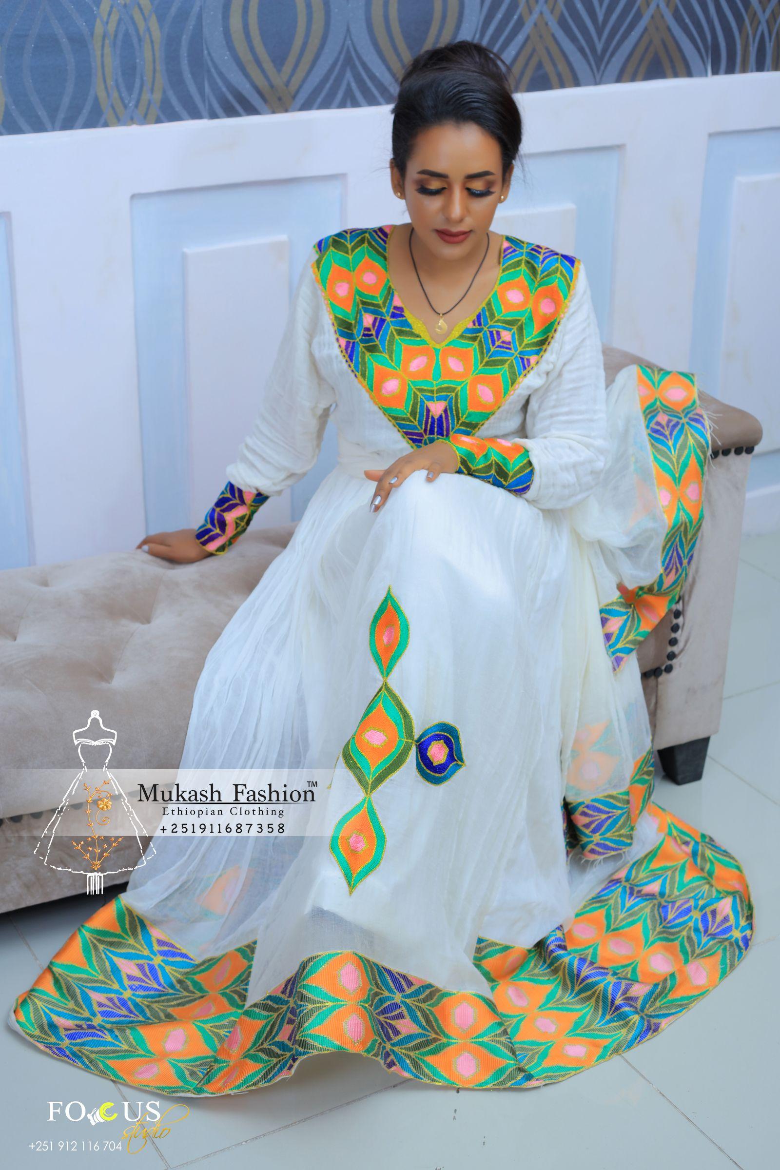 A- MARILLYN ZERZER ETHIOPIAN CLOTHING - Kemis Designs  |Ethiopian Fashion Clothes
