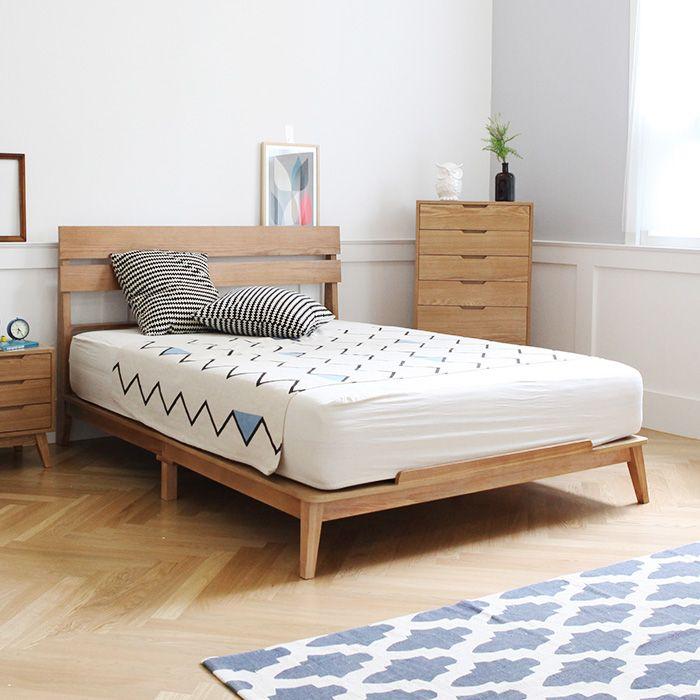 데니쉬모던 퀸 침대 Furniture Bed Toddler Bed