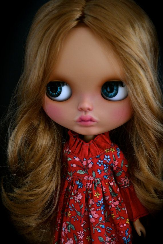 Vivian Custom Blythe Doll by AnythingForTheGirl on Etsy
