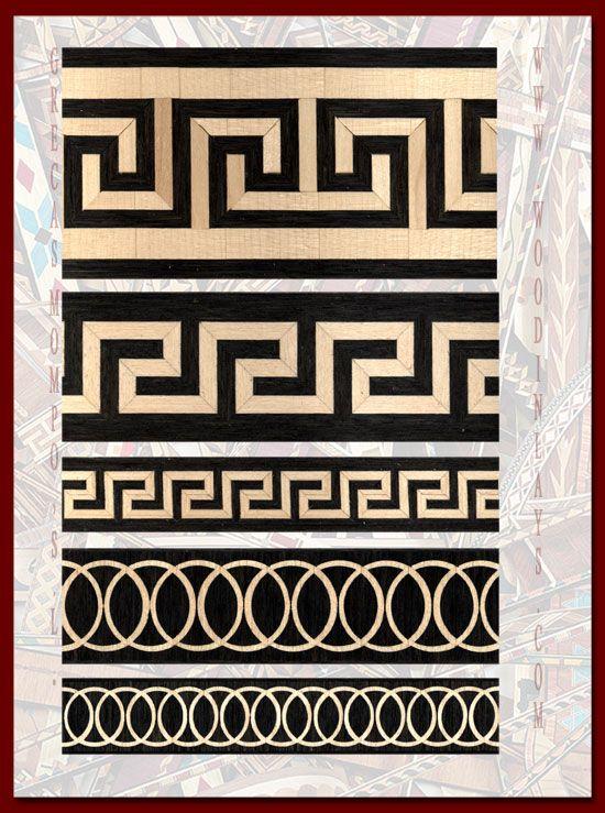 Grecas exclusivas 1 | Creatividad y diseño | Pinterest