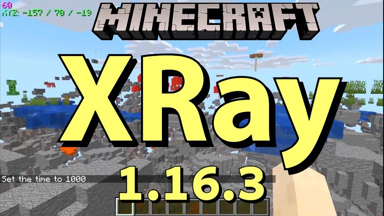 Xray Mod 1 16 3 Gameplay How To Get Xray In Minecraft 1 16 3 X Ray Minecraft 1 Minecraft