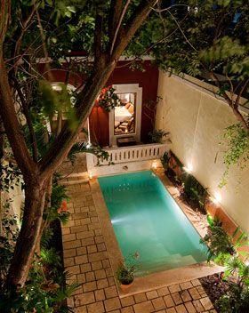 Yucatan Living Vacation Rentals Casa Hermana Small Pool Design Backyard Pool Small Inground Pool