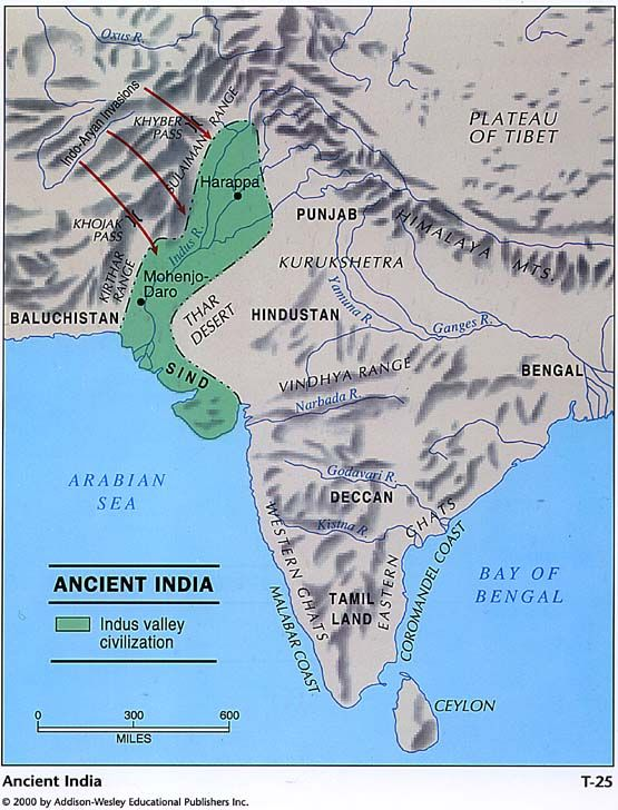 Harappa World Map.Geography Of Ancient India Aryan Invasion Foundation Of Hinduism