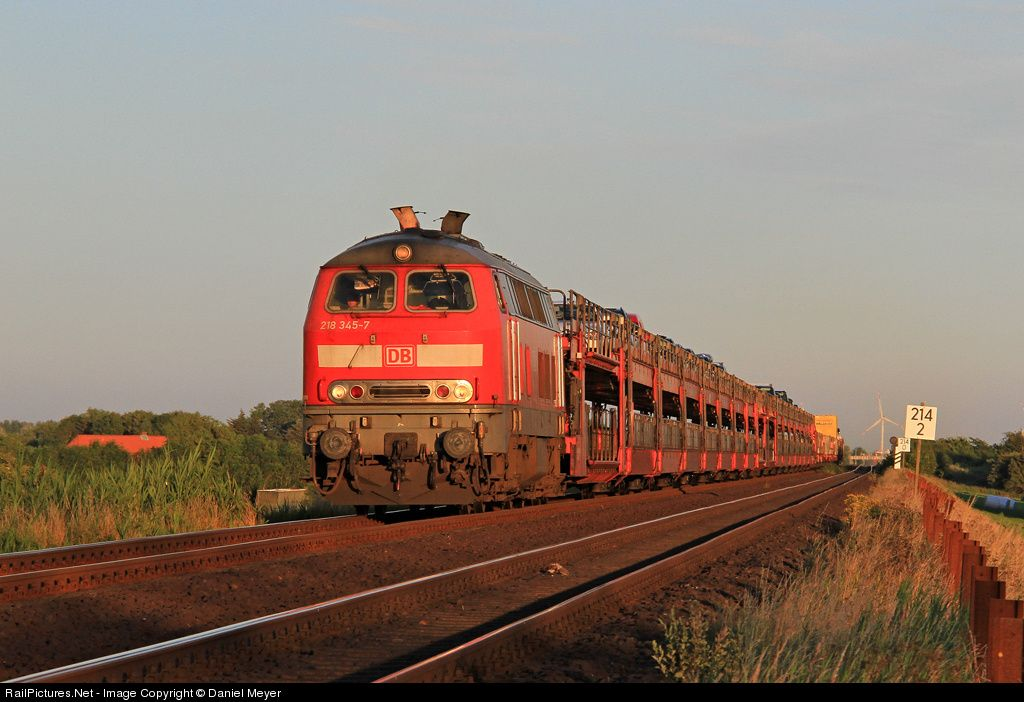 Photo 218 3457 Deutsche Bahn AG 218 at