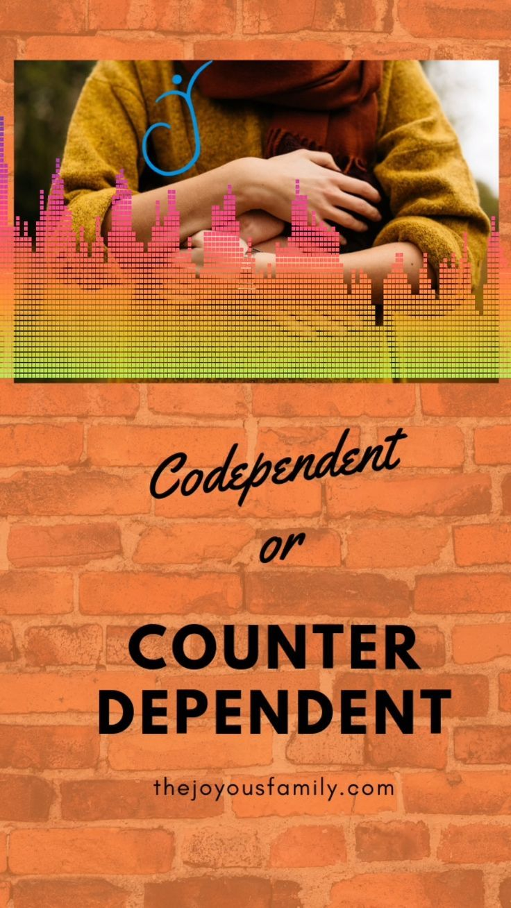 Counter dependence the other codependent codependency