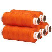 buttinette Angebot buttinette Universal-Nähgarn, Stärke: 100, 5er-Pack, orangeIhr QuickBerater