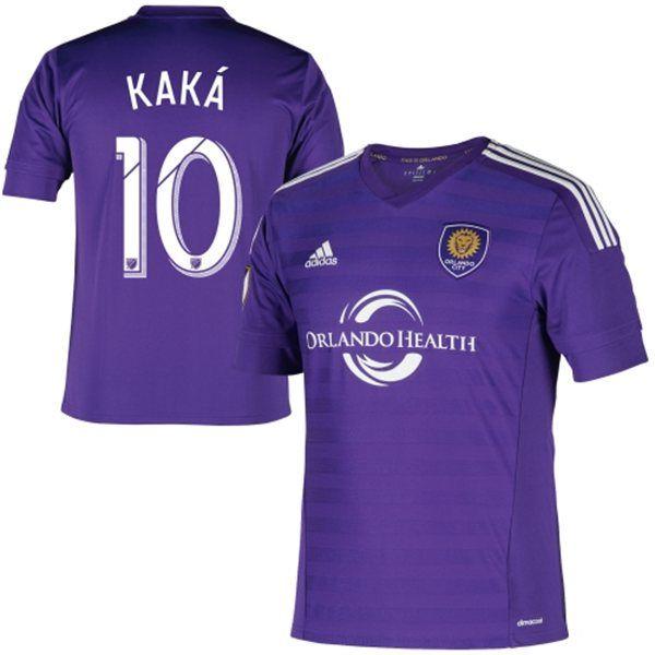 Ricardo Kaka Orlando City Sc Adidas Home Replica Jersey Purple Orlando City Sc Orlando City Orlando City Soccer Club