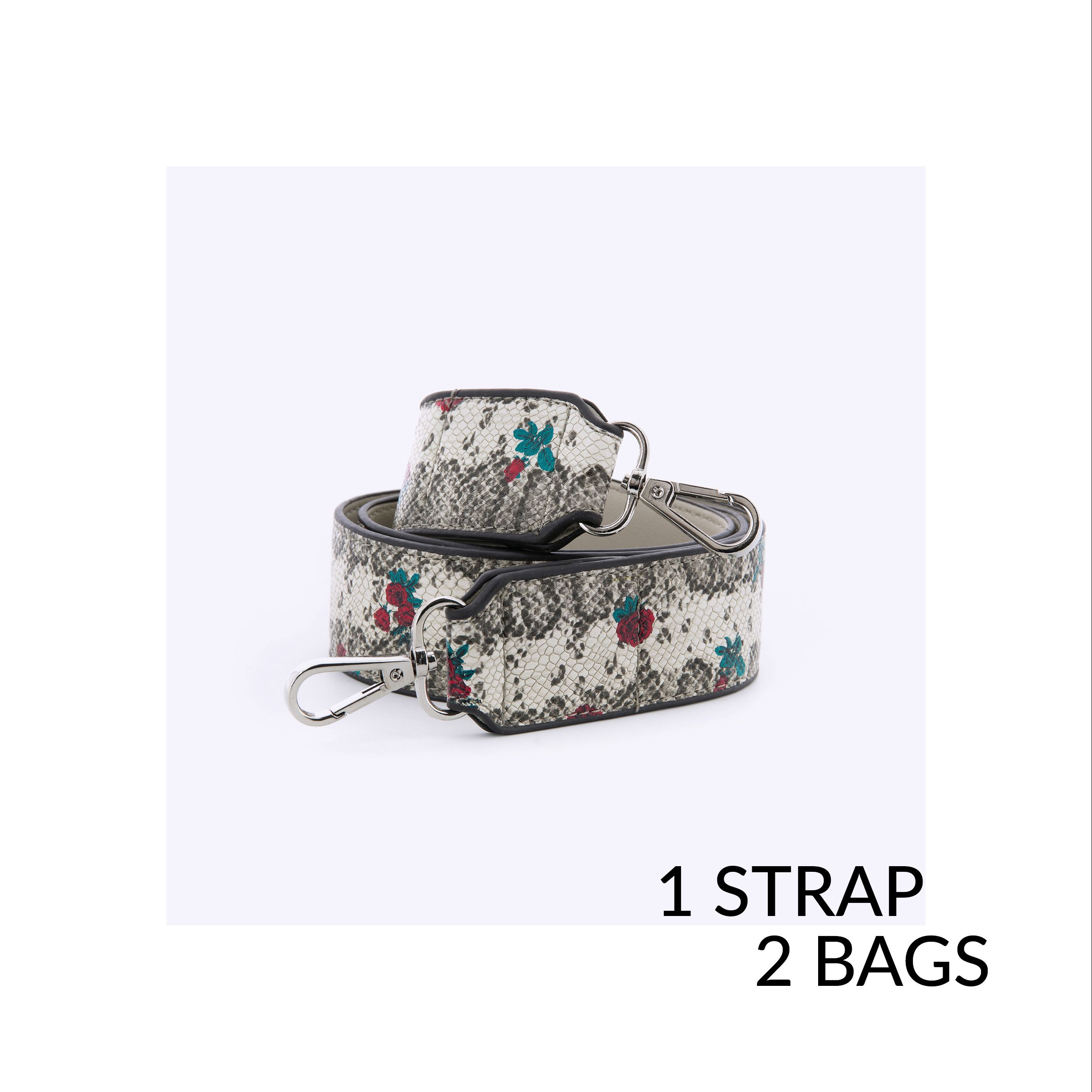 Transform your bag! 1 Strap, 2 Bags