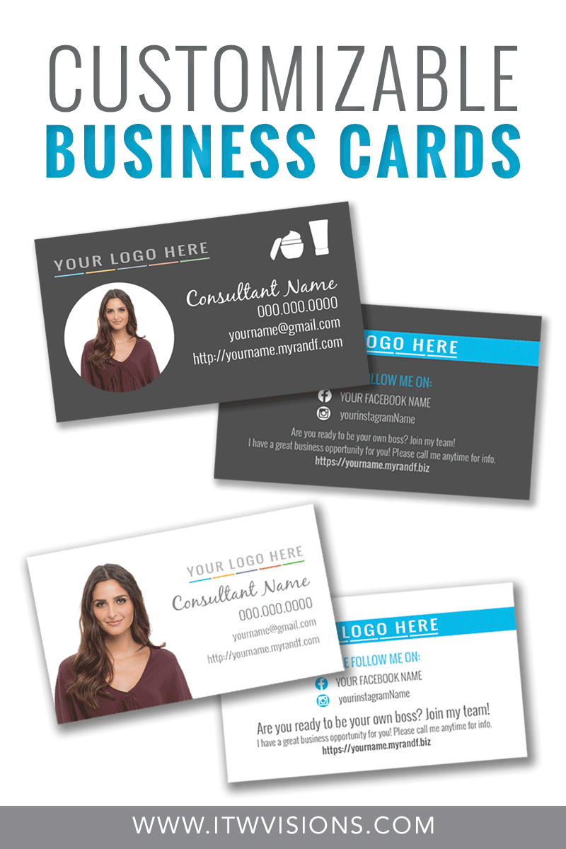 Customizable Business Card Templates