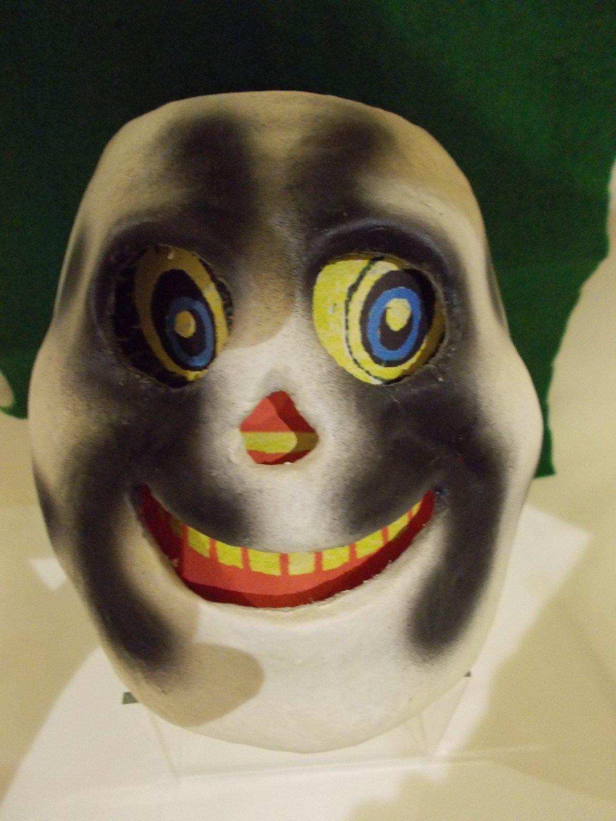 Vintage scary halloween boooooo ghost lantern style candy