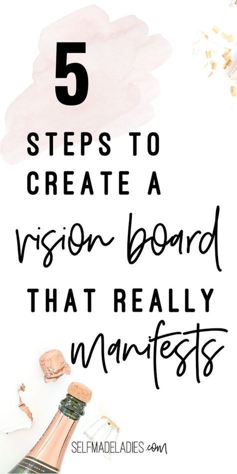 How to Make a Vision Board That Really Works (In 5 Simple Steps)