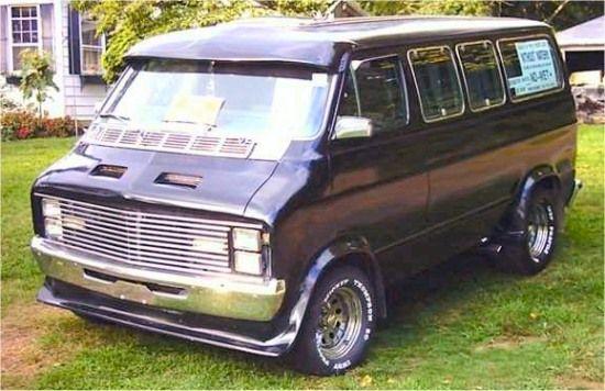 Custom 70s Van For Sale