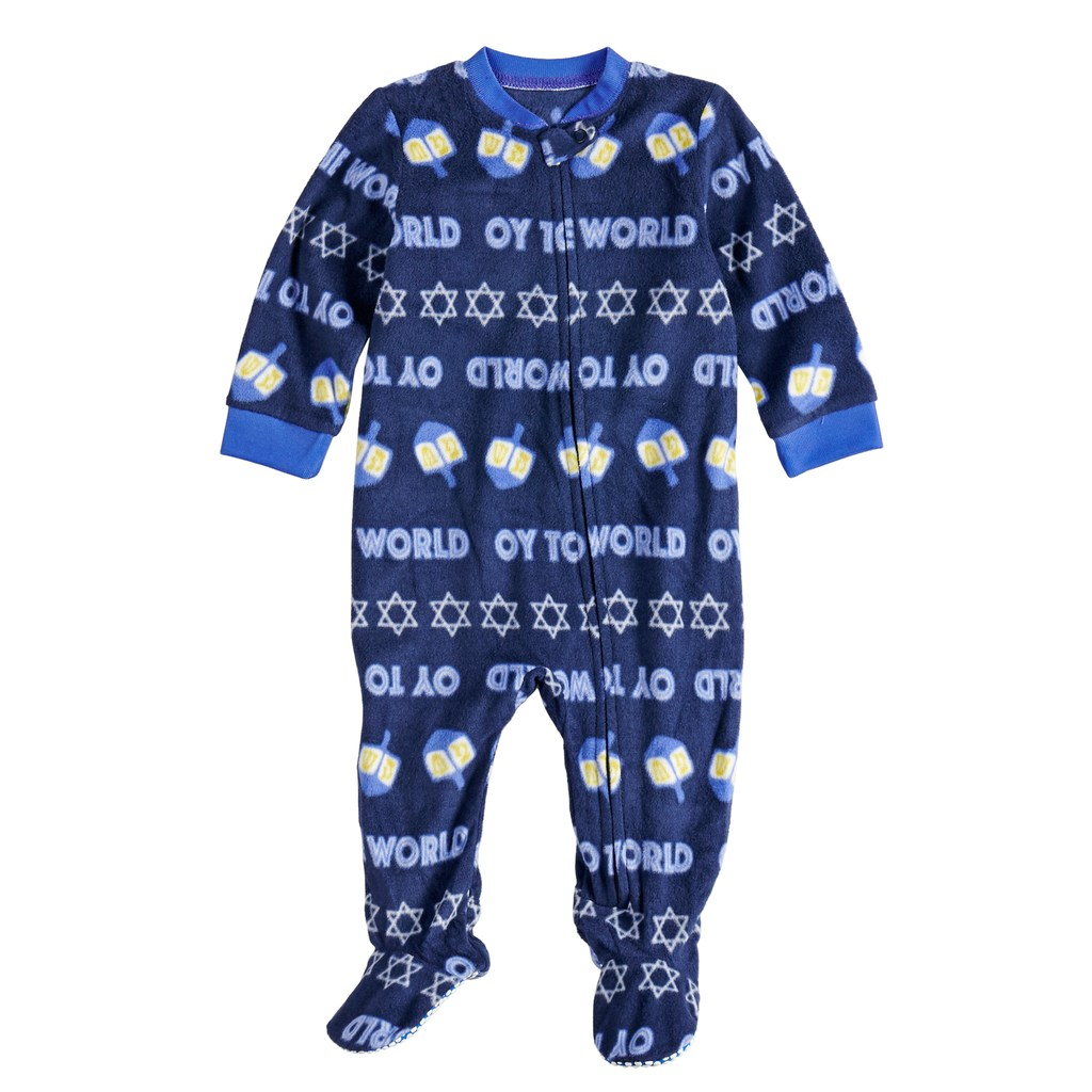 005272ed9 Baby Infant Jammies For Your Families Hanukkah
