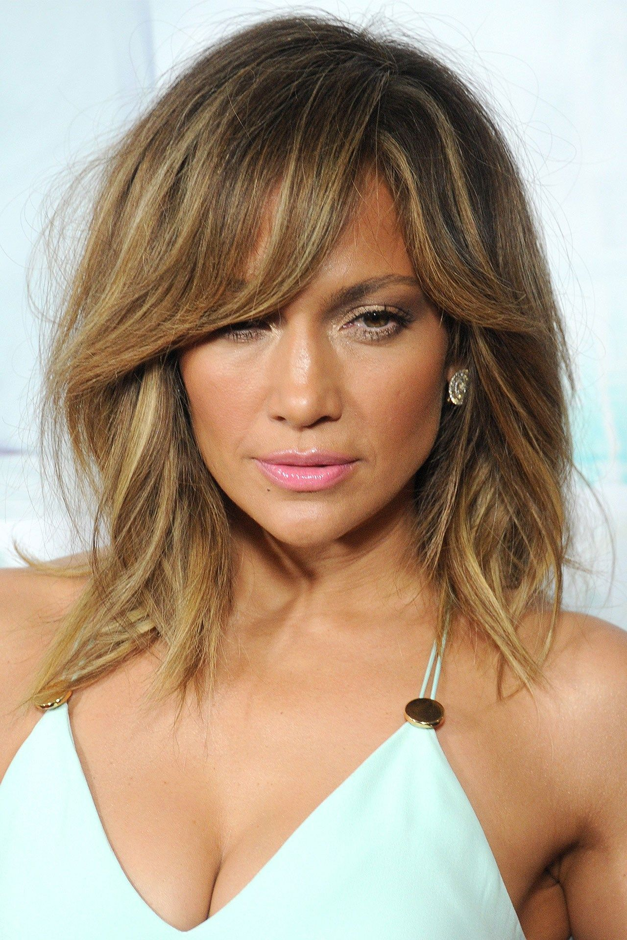Coiffure Cheveux Mi Long Et Frange Jennifer Lopez The Best Beauty Looks Over The Years
