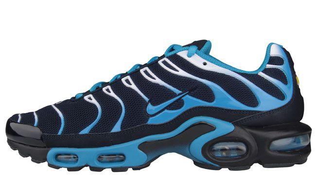 Nike Air Max Plus (Tuned 1) | Dark Obsidian & Dynamic Blue