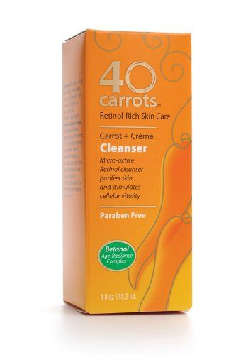 40 Carrots Cleanser 4ounce Boxes To View Further For This Item Visit The Image Link Facialskincare Paraben Free Products Skin Care Creme 40 Carrots
