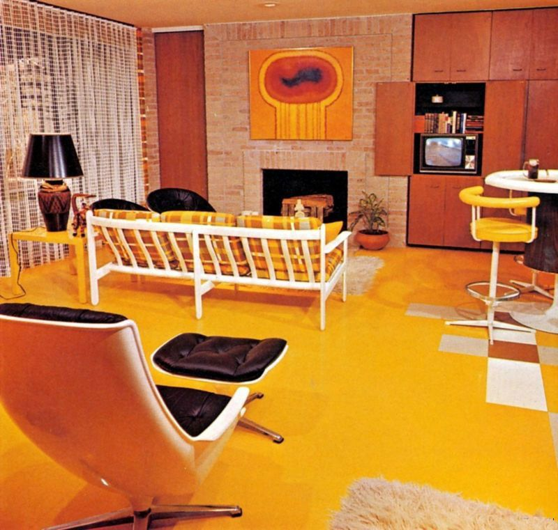 Best 70S Living Room Room Needs To Be Infused With Some 400 x 300