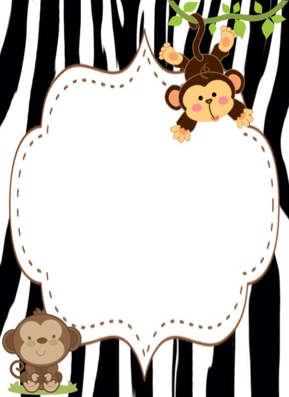 Monkey #freelabel #labeldesign #eveiolabel #owndesign #girlylabel #vintagelabel #cutelabel #blackandpink #cutelabel