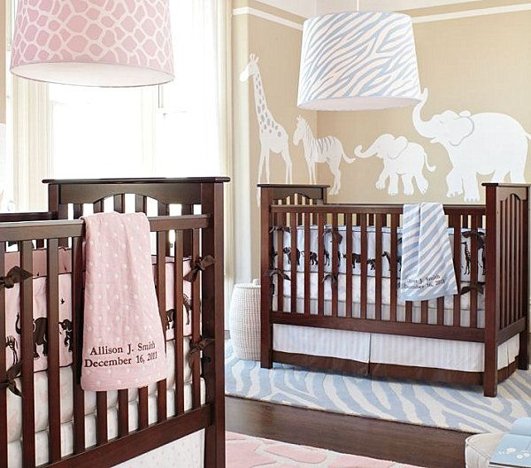 Wandgestaltung babyzimmer junge Babyzimmer