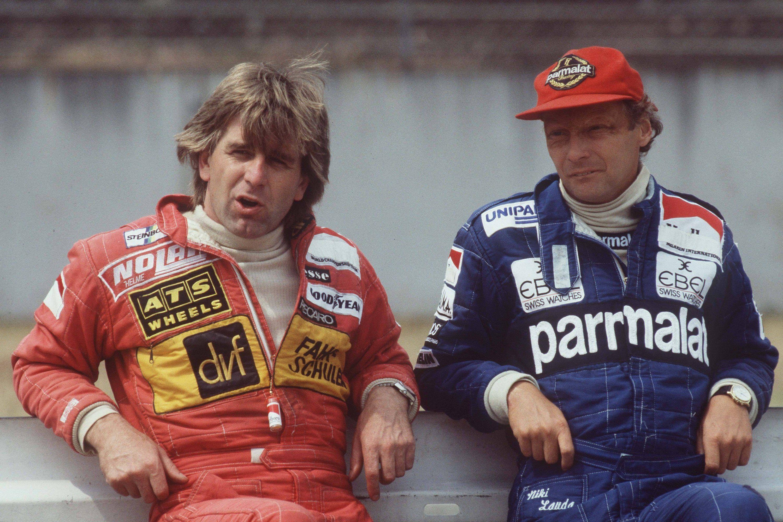 Manfred Winkelhock and Niki Lauda