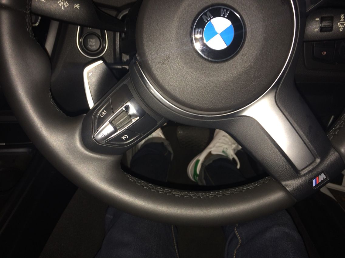 Stan Smith vibes in the 420i Beamer